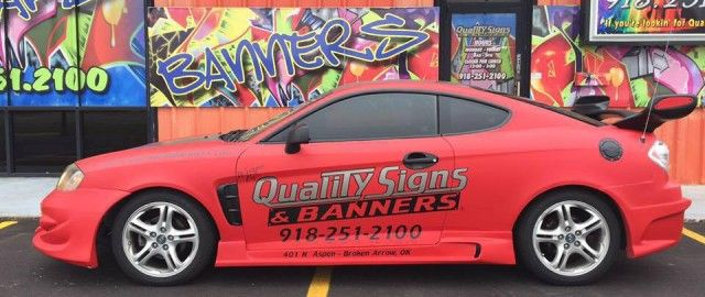 Vehicle Wraps in Tulsa
