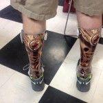 unique prosthetic covers